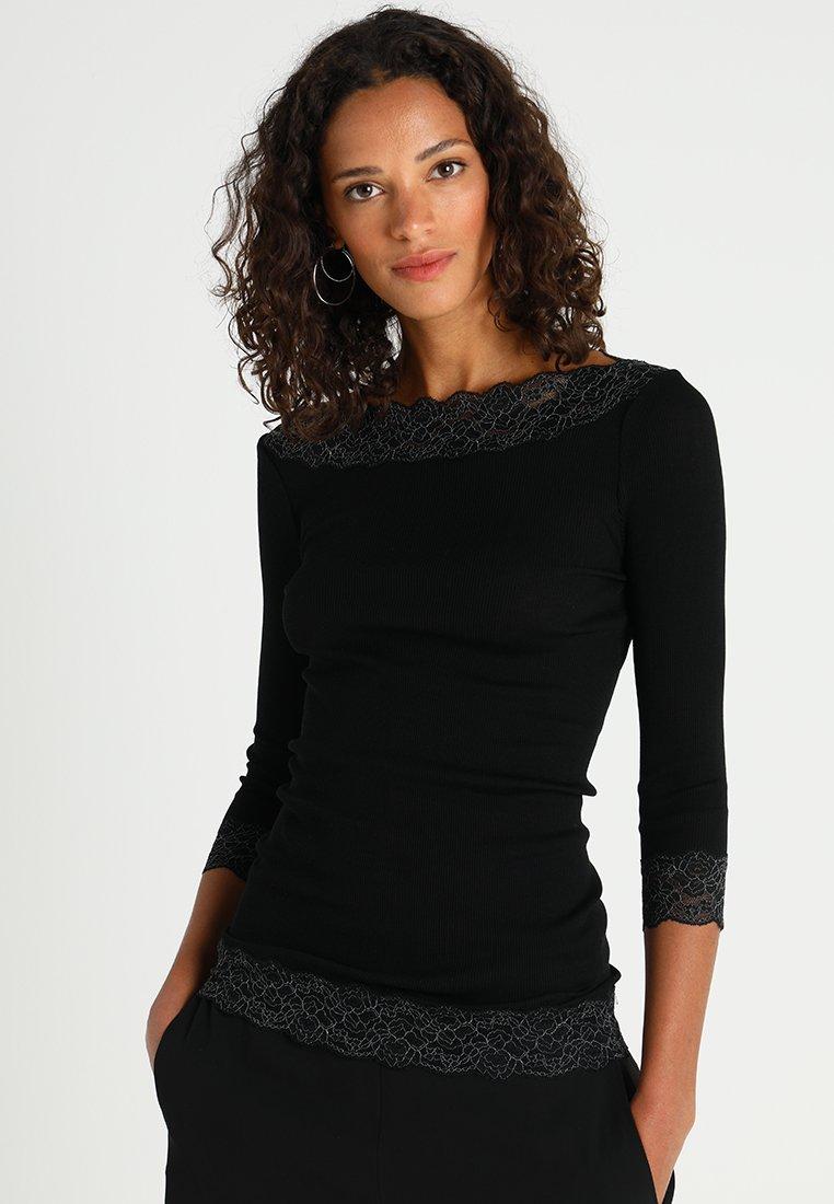 Rosemunde - Long sleeved top - black