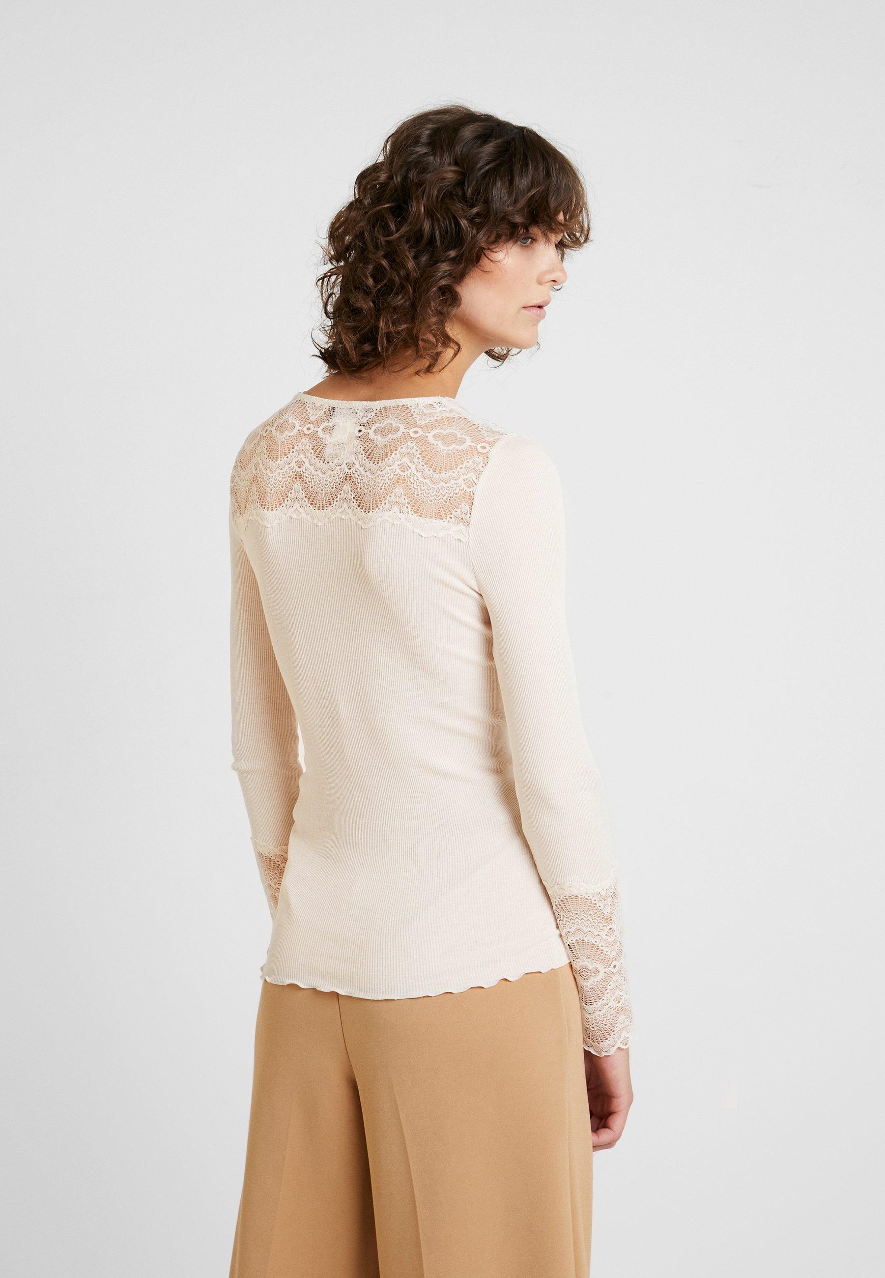 BrionneT À Rosemunde Soft Manches Longues Powder shirt ukXiOZP