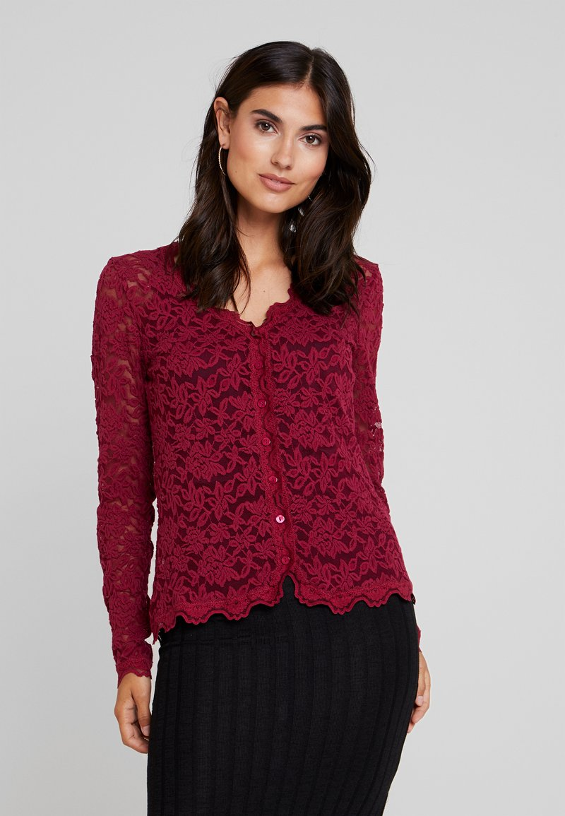 Rosemunde - Cardigan - dark berry