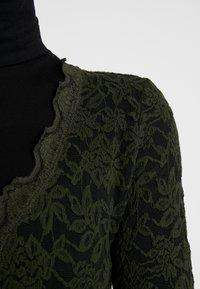 Rosemunde - Kardigan - black green - 3