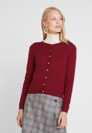 SOFIA - Cardigan - burgundy red