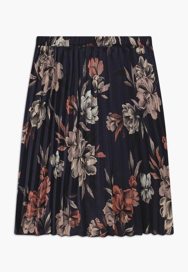 LISSABON - Áčková sukně - navy