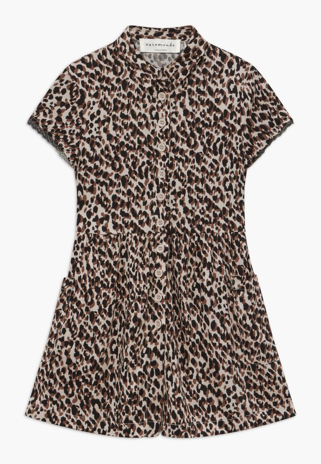 DRESS - Robe chemise - brown shadow