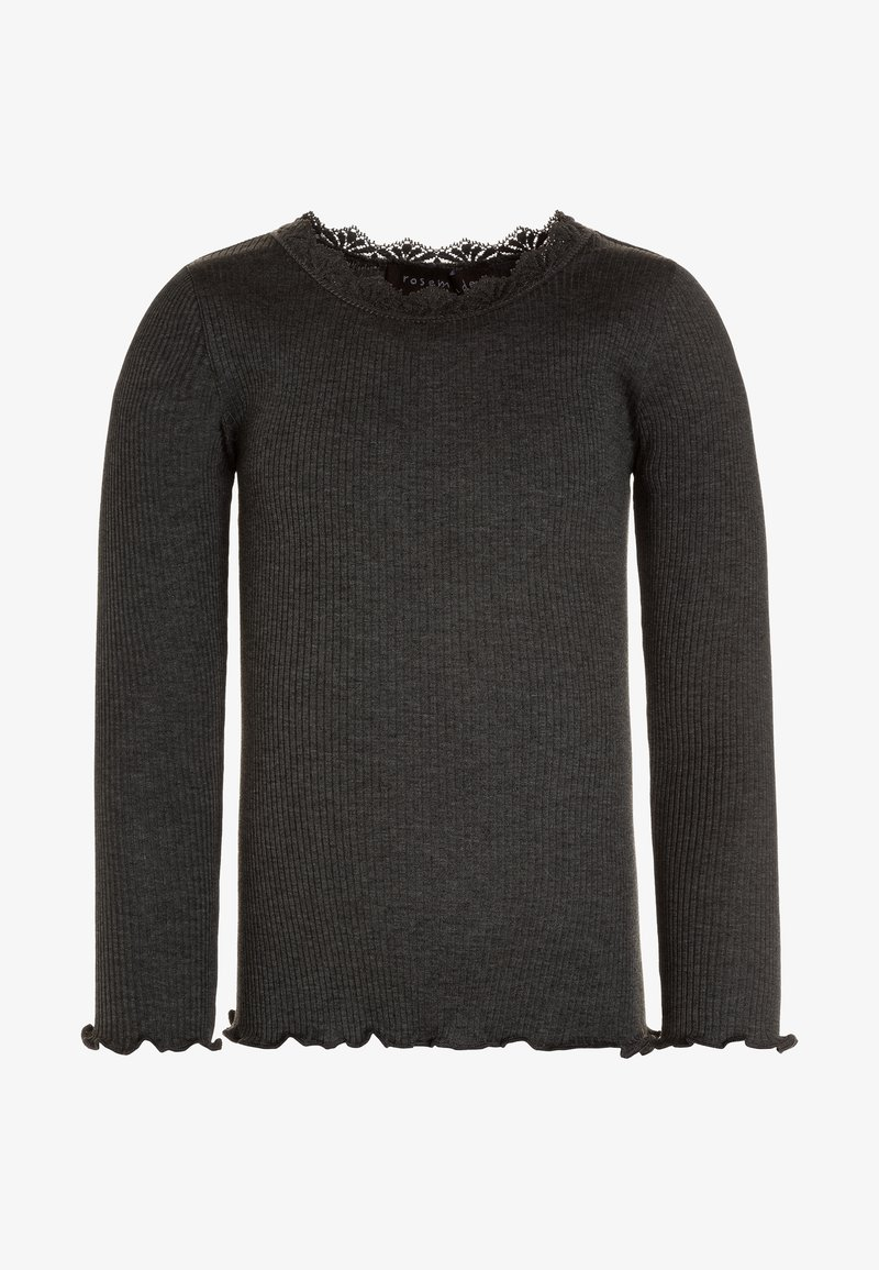 Rosemunde - Langærmede T-shirts - dark grey melange