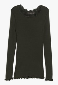 Rosemunde - Langærmede T-shirts - dark green - 0