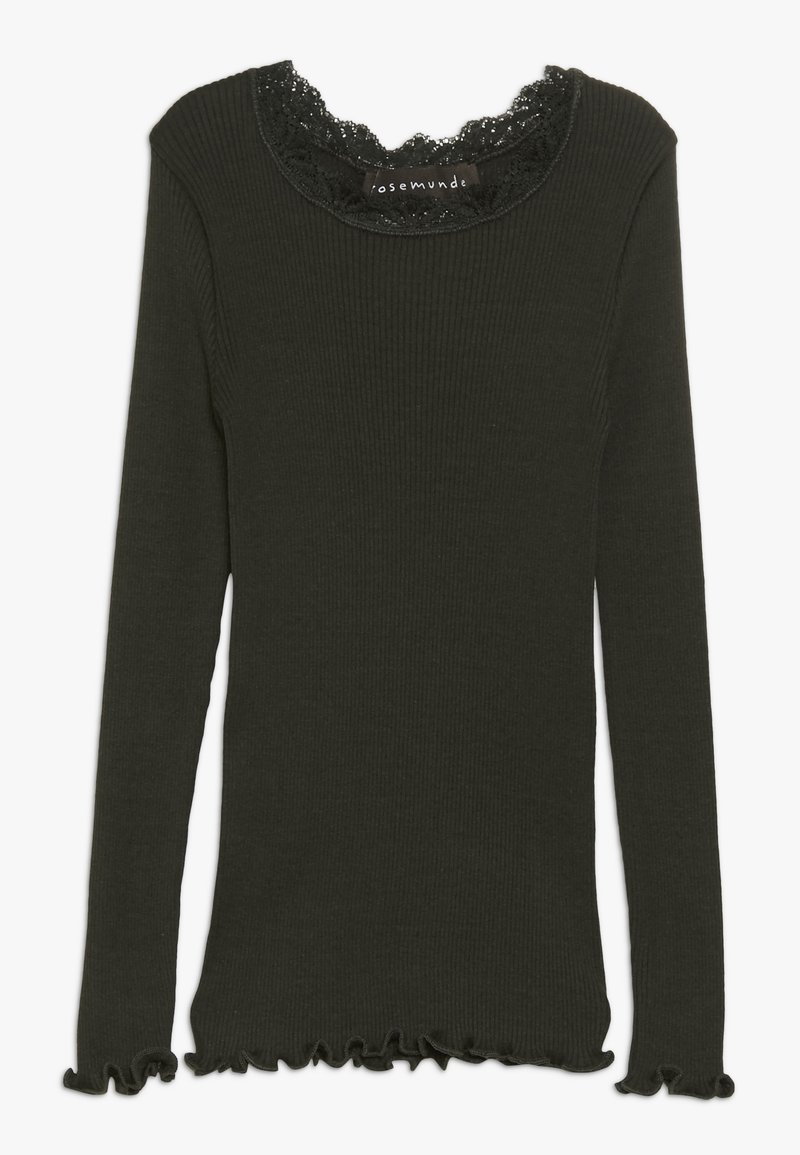 Rosemunde - Langærmede T-shirts - dark green