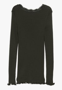 Rosemunde - Langærmede T-shirts - dark green - 1