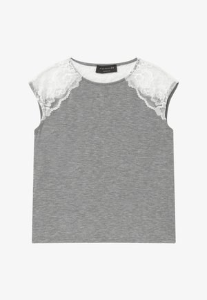 BERLIN - Print T-shirt - light grey