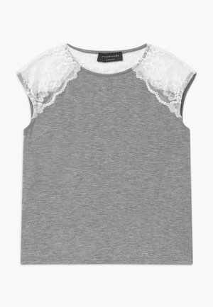 BERLIN - T-shirt con stampa - light grey