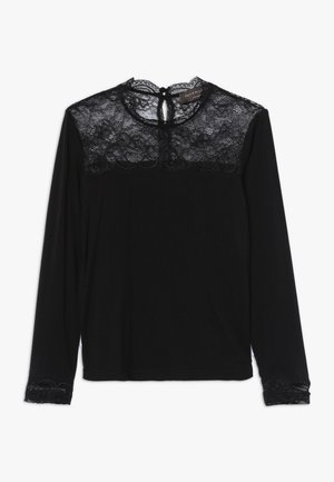 T-SHIRT LS - Long sleeved top - black