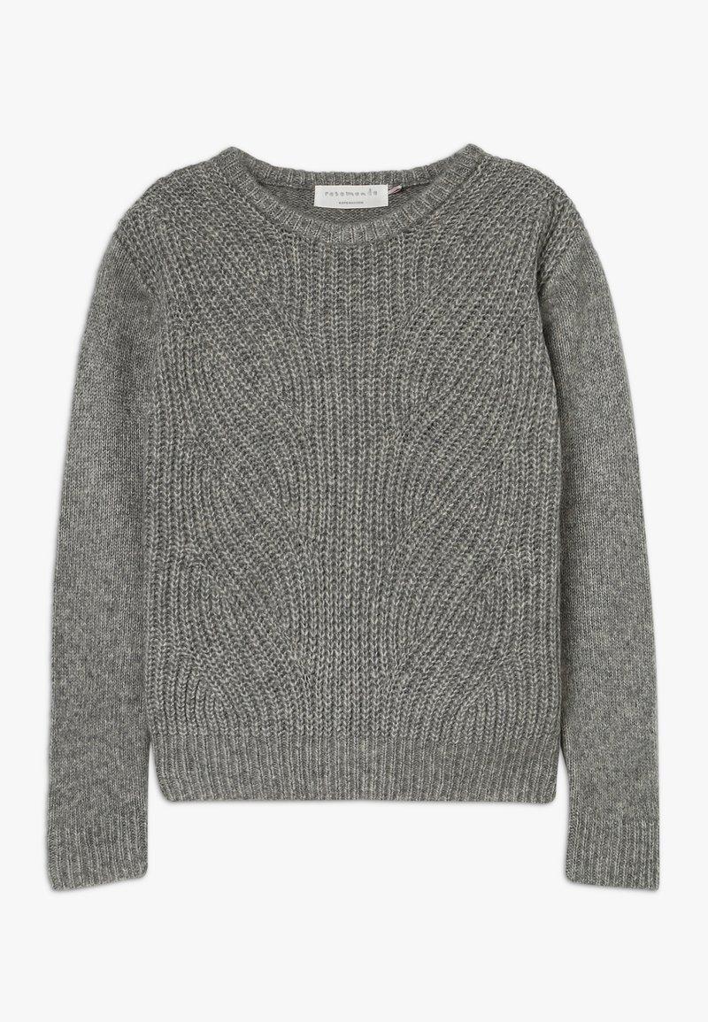 Rosemunde - Jumper - grey blend