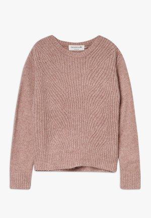 Stickad tröja - vintage blend