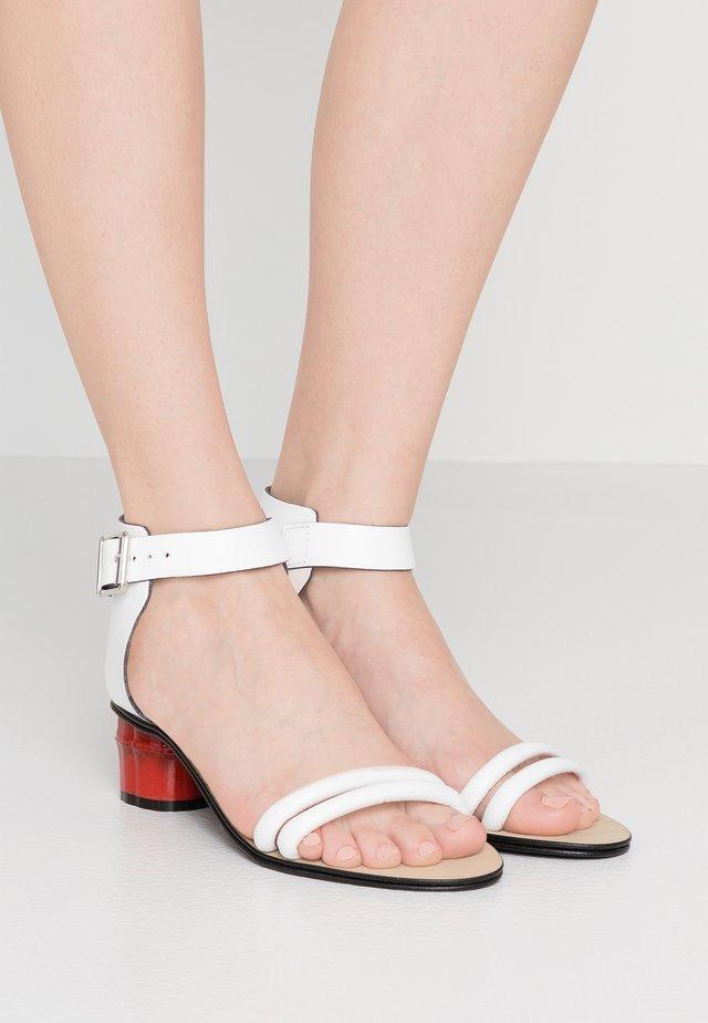 ANITA - Sandals - white