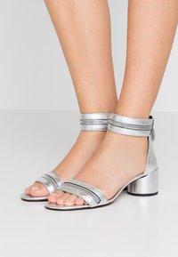 Rebecca Minkoff - ORTENNE - Sandalias - silver - 0