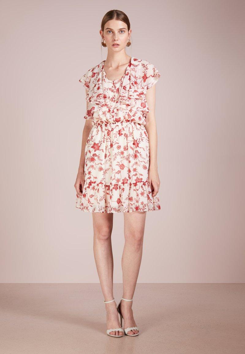 Rebecca Minkoff - CLAUDIA DRESS - Freizeitkleid - cream multi