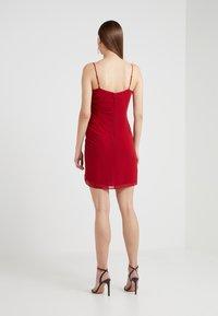 Rebecca Minkoff - KINSLEY DRESS - Hverdagskjoler - red - 2