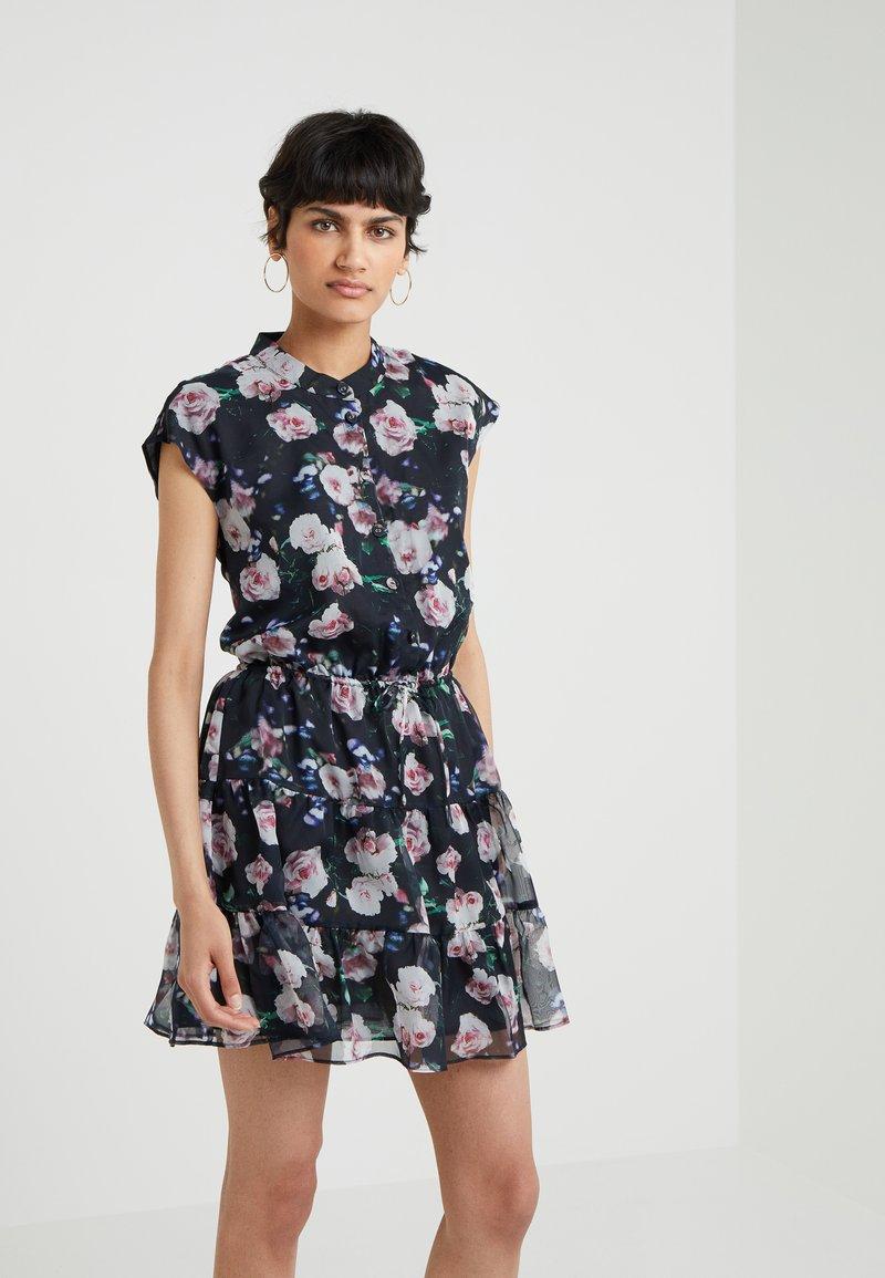 Rebecca Minkoff - OLLIE DRESS - Blusenkleid - black/multi