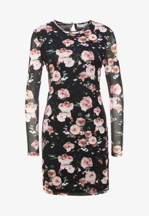 PHOEBE DRESS - Freizeitkleid - black/multi
