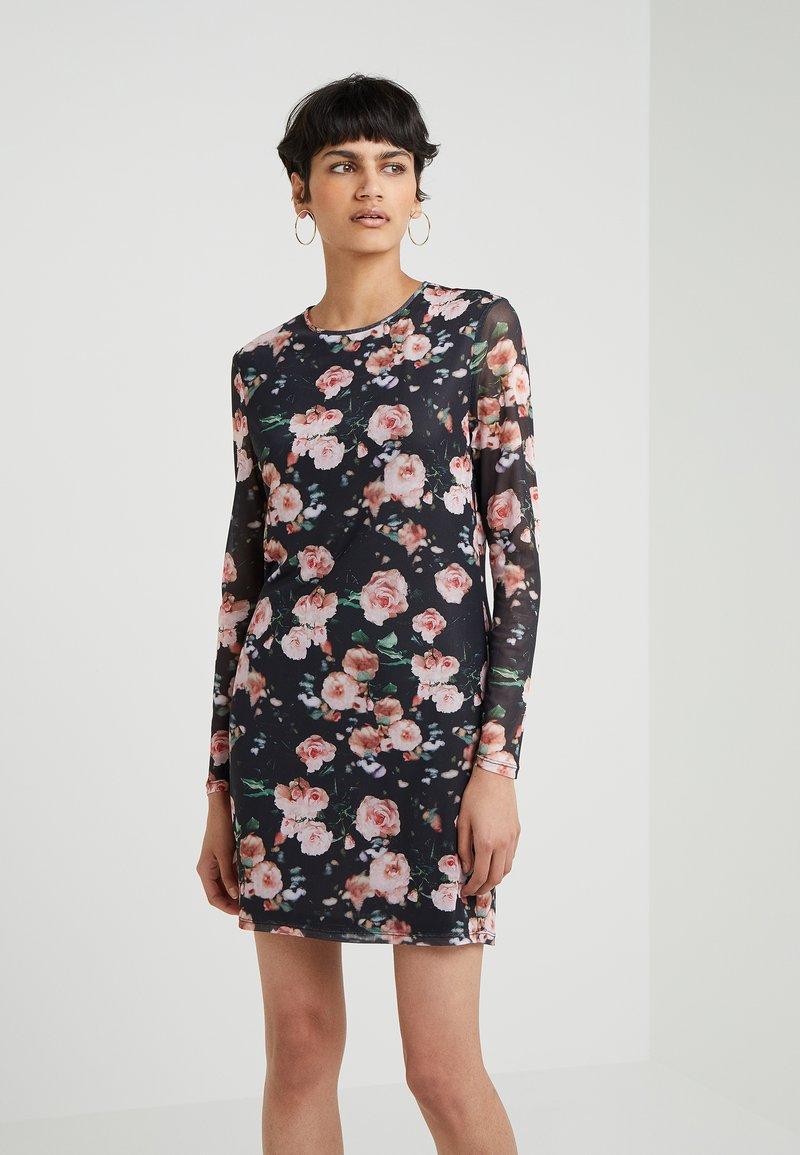 Rebecca Minkoff - PHOEBE DRESS - Day dress - black/multi