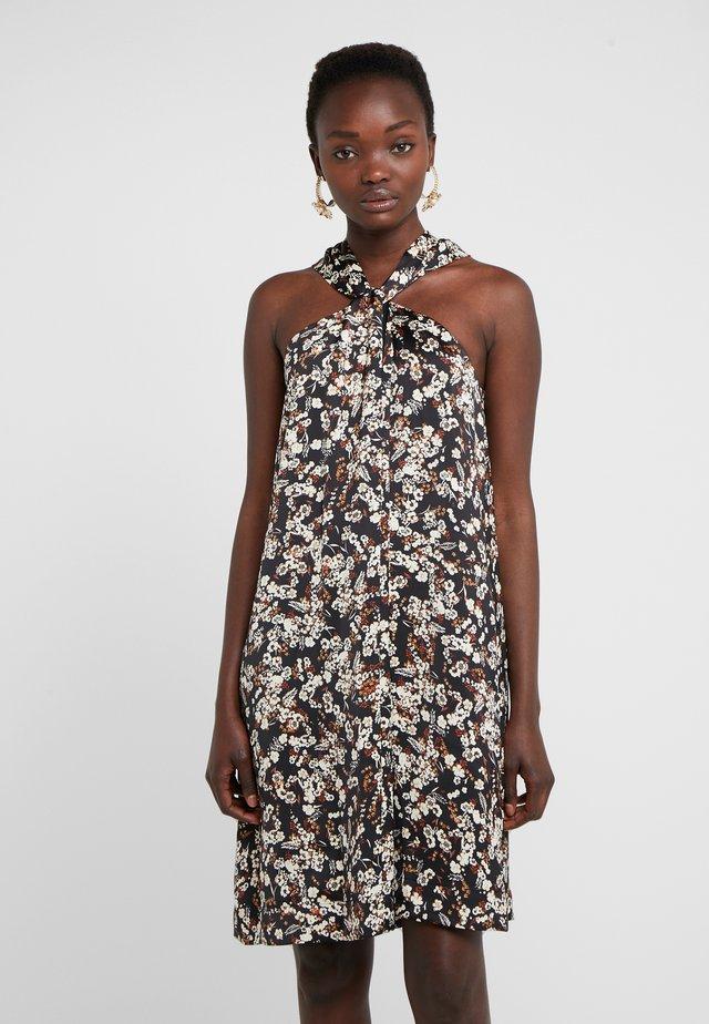 WINNIE DRESS - Juhlamekko - black/multi-coloured
