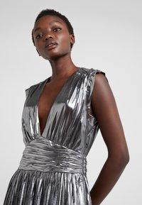Rebecca Minkoff - BRIELLA DRESS - Vestido de cóctel - silver - 3