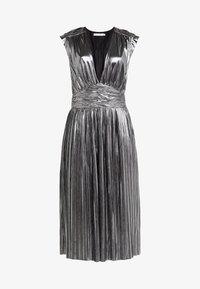Rebecca Minkoff - BRIELLA DRESS - Vestido de cóctel - silver - 4