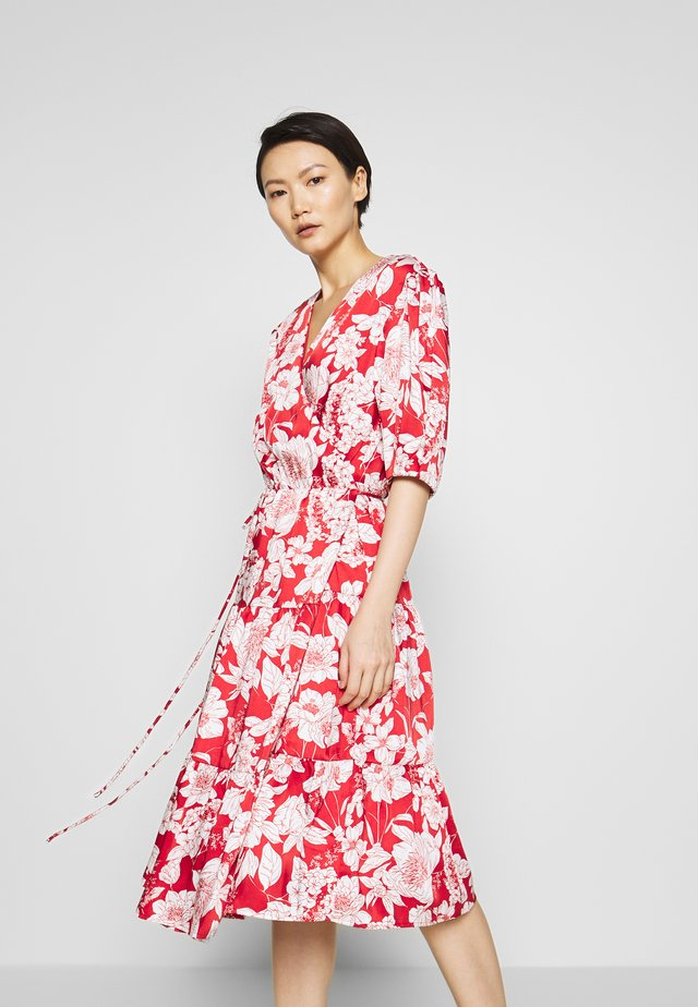 MARY DRESS - Robe d'été - red multi