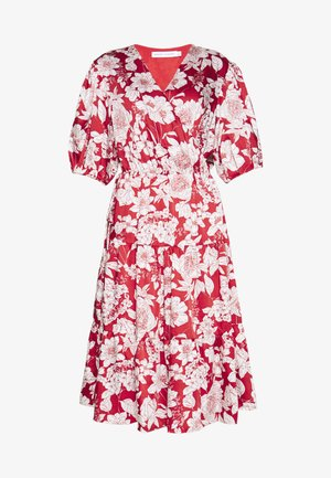 MARY DRESS - Day dress - red multi