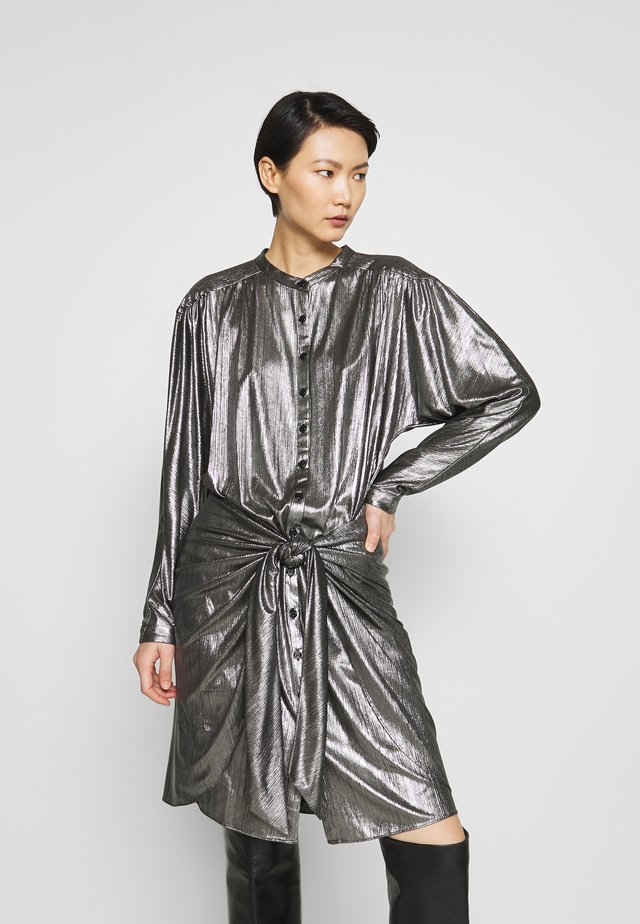 WILLOW DRESS - Cocktailjurk - gunmetal