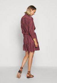 Rebecca Minkoff - DRESS - Košilové šaty - red/blue - 2