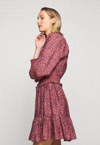 Rebecca Minkoff - DRESS - Košilové šaty - red/blue - 4