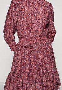 Rebecca Minkoff - DRESS - Košilové šaty - red/blue - 8