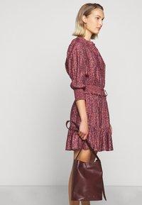 Rebecca Minkoff - DRESS - Košilové šaty - red/blue - 6