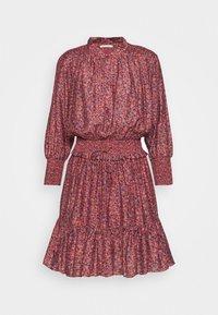 Rebecca Minkoff - DRESS - Košilové šaty - red/blue - 7