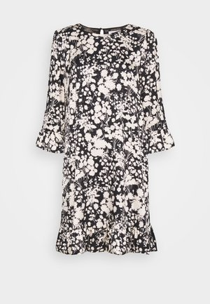 FEDERICA DRESS - Kjole - black/cream