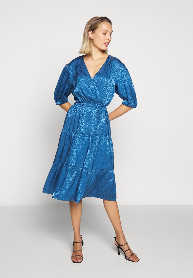 MARY DRESS - Robe d'été - cadet blue