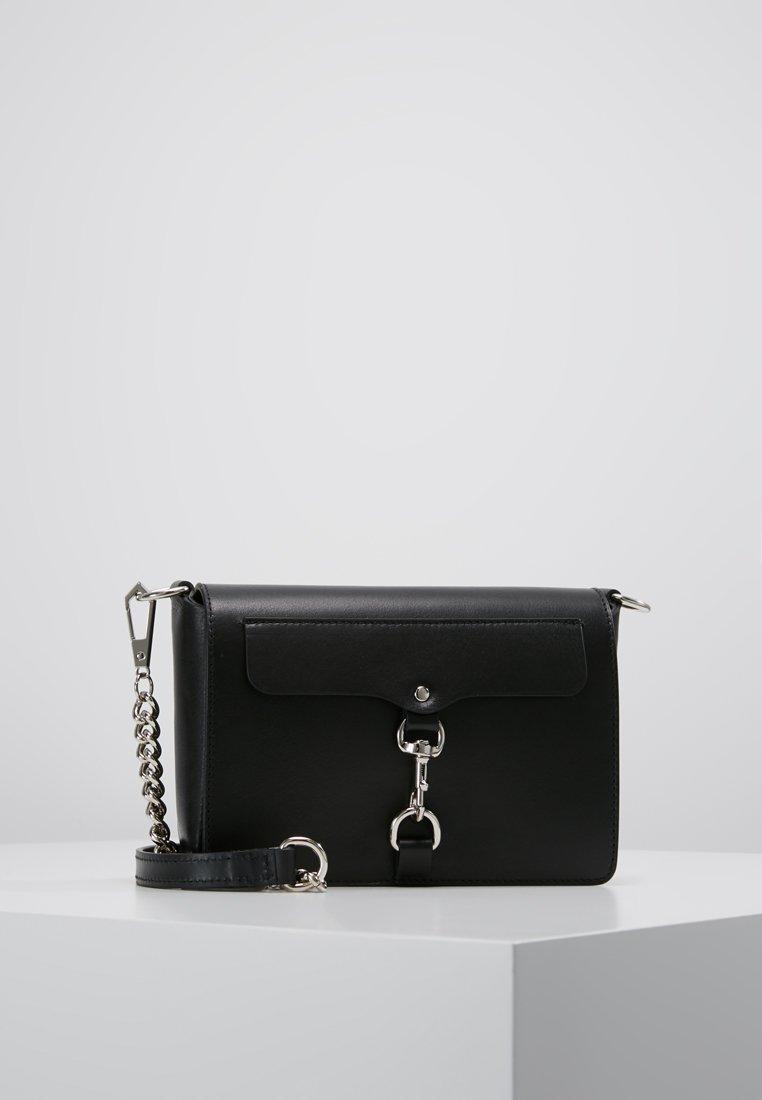 Rebecca Minkoff - MAB FLAP CROSSBODY - Across body bag - black