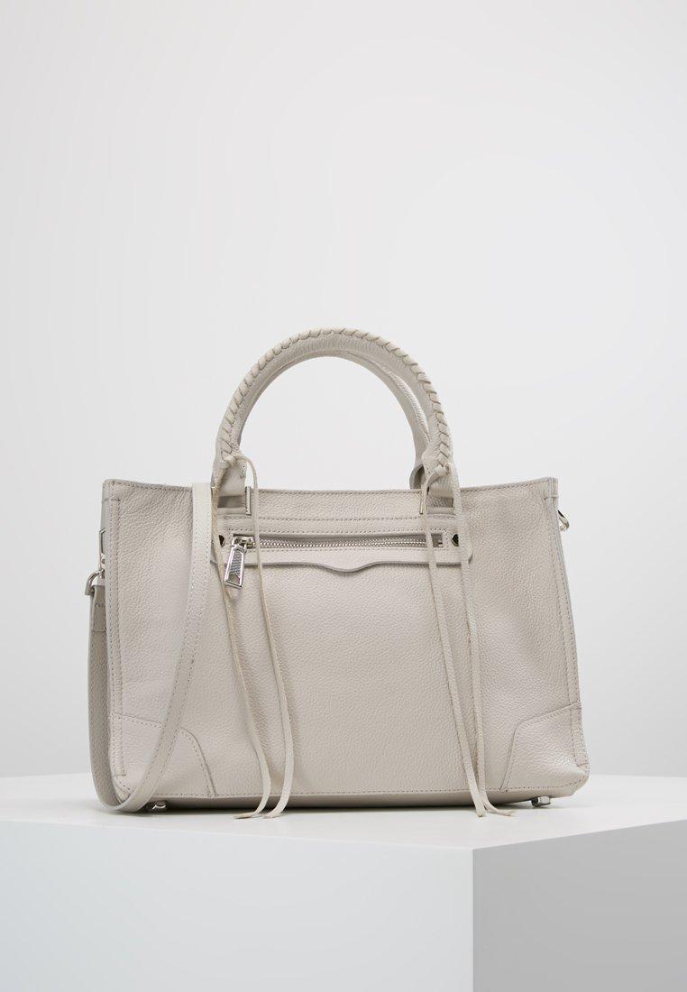 Rebecca Minkoff - REGAN SATCHEL TOTE - Handbag - putty