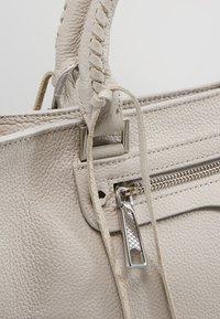 Rebecca Minkoff - REGAN SATCHEL TOTE - Handbag - putty - 6