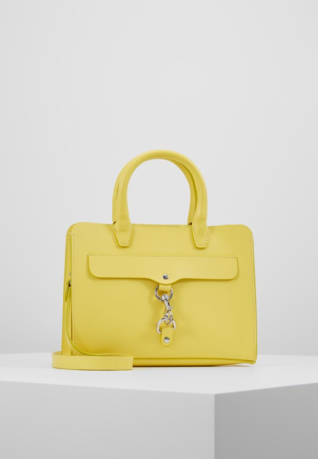 MINI MAB SATCHEL - Axelremsväska - yellow