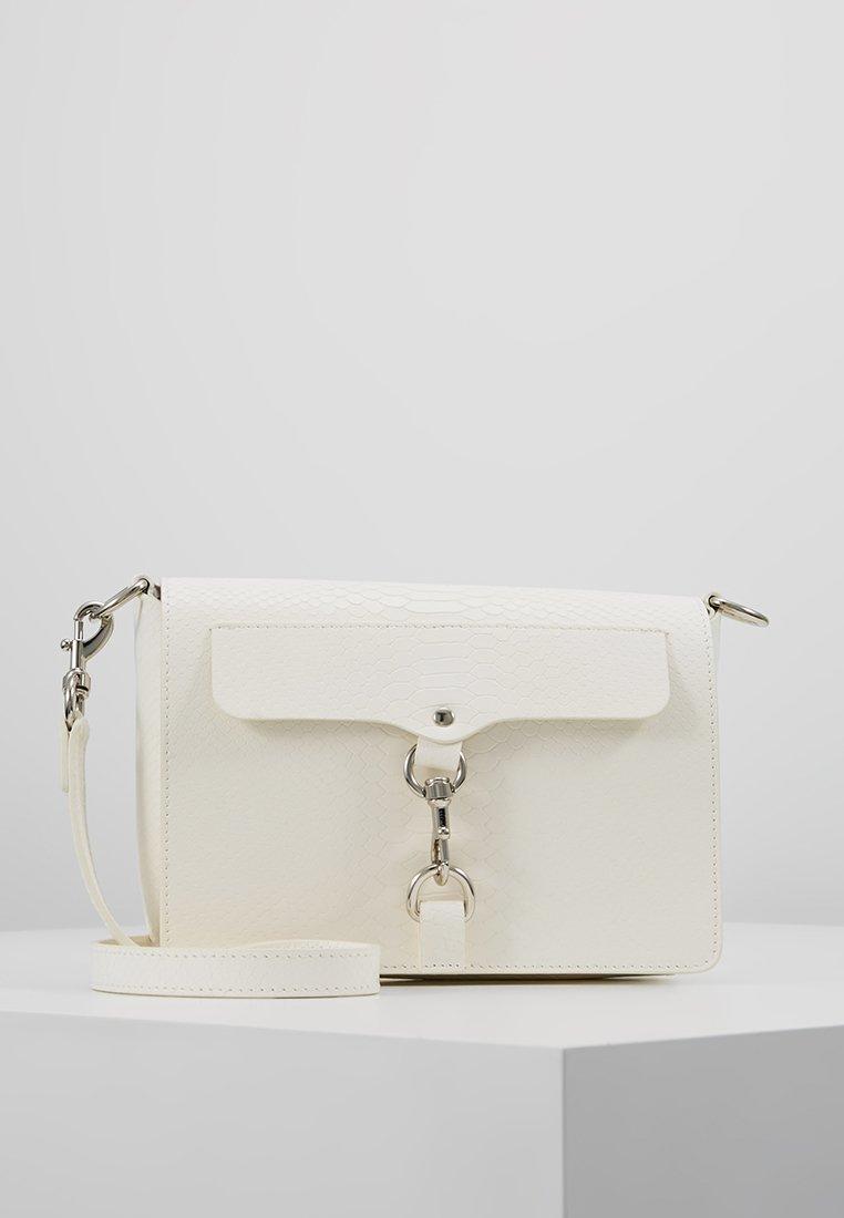 Rebecca Minkoff - MAB FLAP CROSSBODY - Across body bag - white