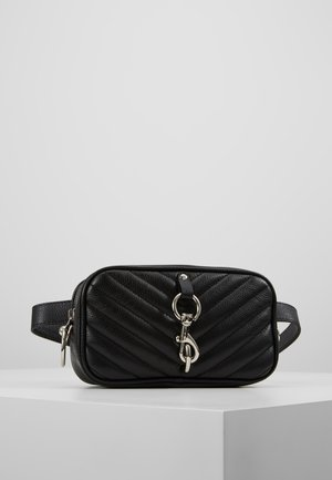 CAMERA BELT BAG - Ledvinka - black