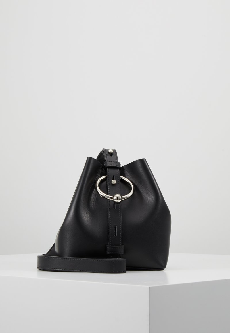 Rebecca Minkoff - MINI KATE BUCKET - Across body bag - black
