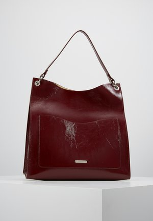 RING TOTE - Tote bag - pinot noir