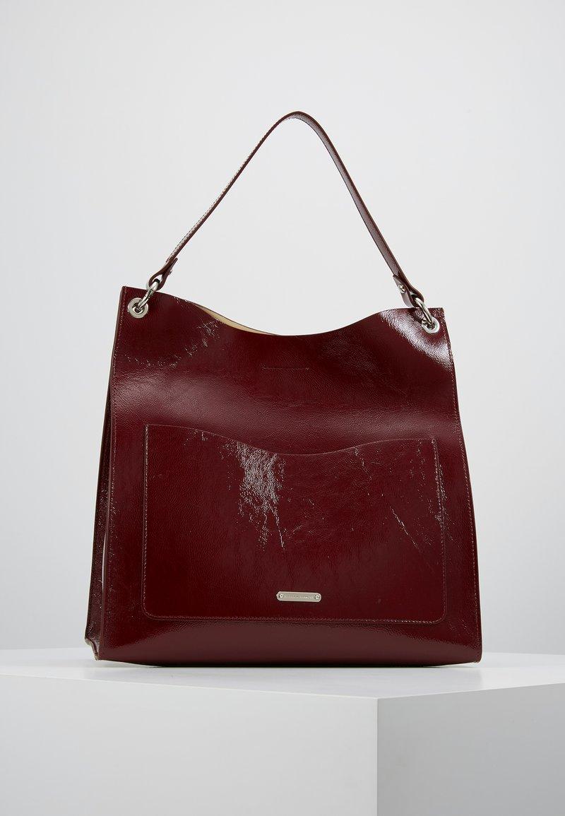 Rebecca Minkoff - RING TOTE - Shopping Bag - pinot noir