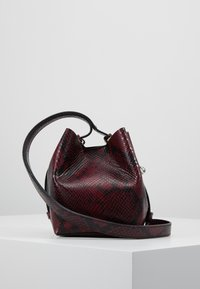 Rebecca Minkoff - MINI KATE BUCKET PYTHON - Handbag - pinot noir - 3