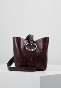 Rebecca Minkoff - MINI KATE BUCKET PYTHON - Handbag - pinot noir - 5