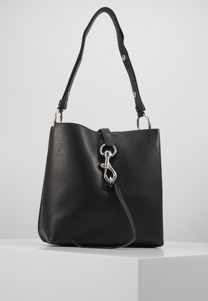 MEGAN SHOULDER BAG - Håndveske - black