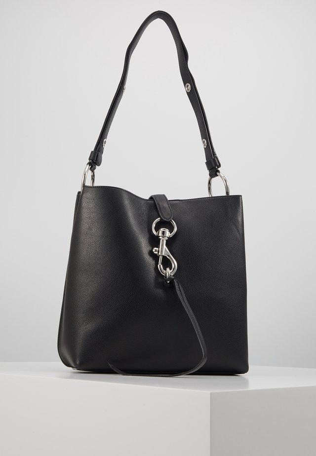 MEGAN SHOULDER BAG - Sac à main - black