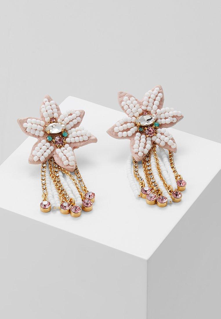 Rebecca Minkoff - CALLA STATEMENT STUDS - Earrings - blush/gold-coloured